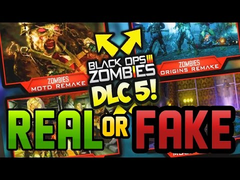 """""""DLC 5 IS 100% CONFIRMED"""" - Real Or Fake?  Looking at the 'Leaked' Evidence! (Black Ops 3 Zombies) 