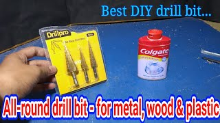 all-rounder drill bit for wood, iron and plastic .... best drill bits for DIY .... mr creative dude