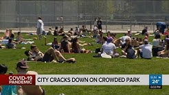 City cracks down on crowded park