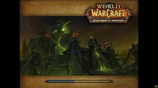 World of Warcraft - Warlords of Draenor Archimonde battle.