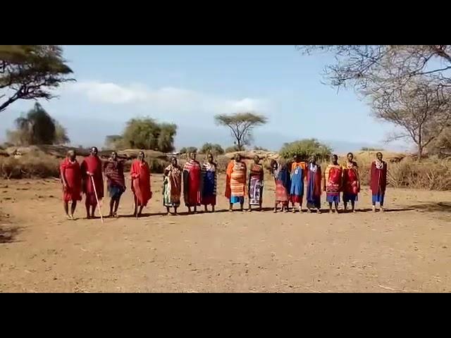 Maasai Welcoming