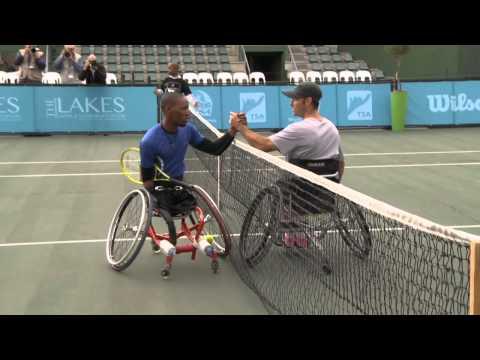 Lucas Sithole - A Tennis Champion Despite All Odds!