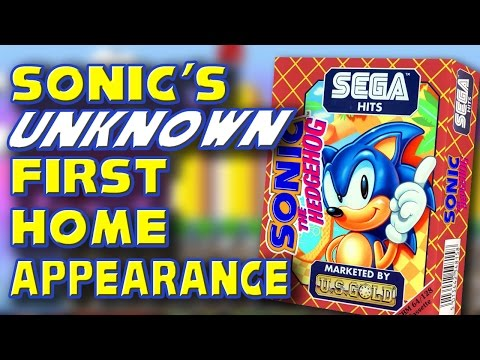Sonic's UNKNOWN First Home Appearance | GYCW