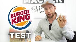 Burger King Test 👍👎 Kann man dort sportgerecht essen? 🍔🍟