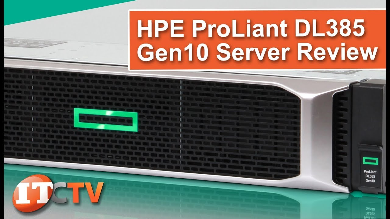 EPYC HPE ProLiant DL385 Gen10 Server REVIEW | IT Creations