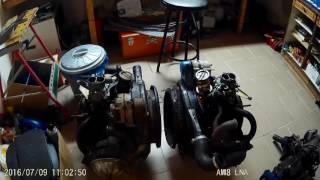 Démontage moteur - boite Ami 8