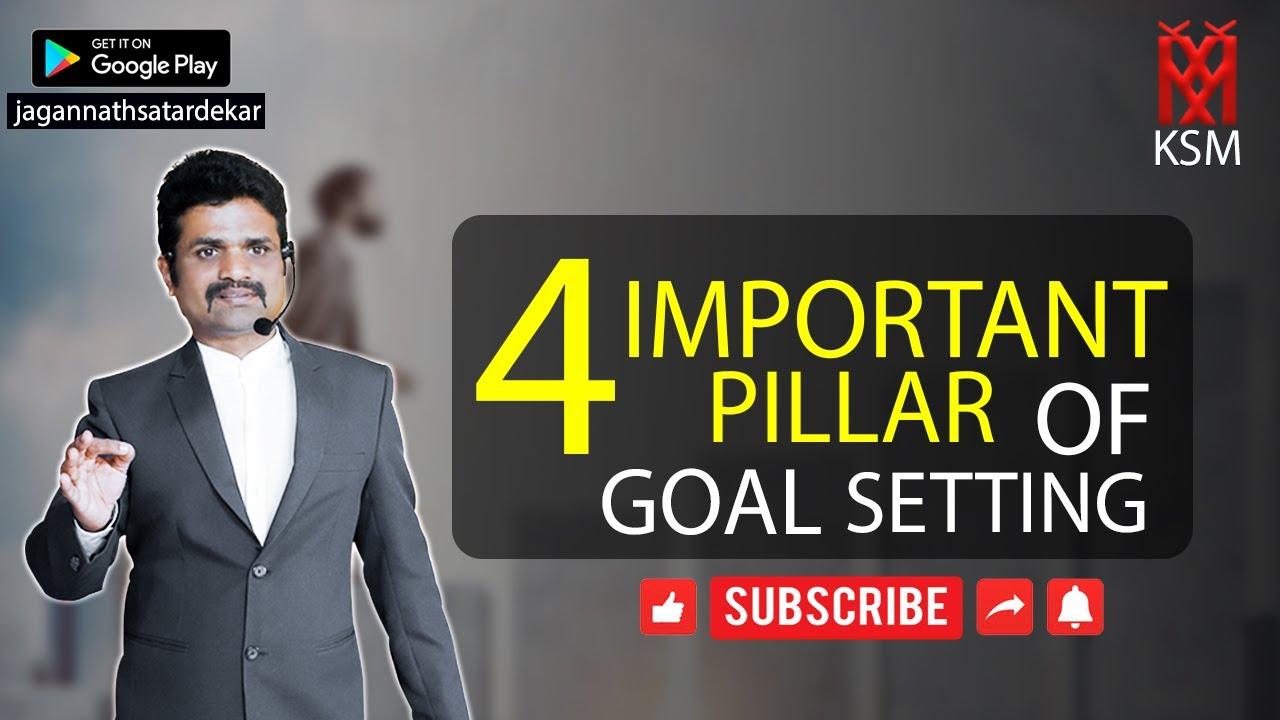 Motivation.Goal Setting गोल सेटिंग के महत्वपूर्ण चार आधारस्तंभ