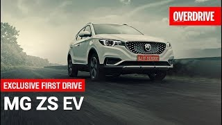 MG ZS EV | First Drive (India) | OVERDRIVE