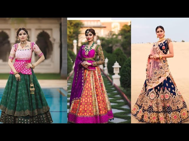 Gujarati styles lehenga choli || chanyana choli || Gujarati Wedding || Kaur Trends