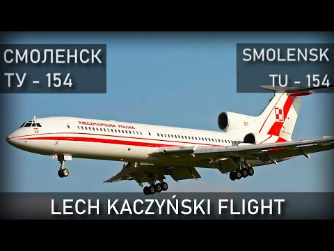 Smolensk. Tu-154M. Lech Kaczynski. Air Disaster Reconstruction.
