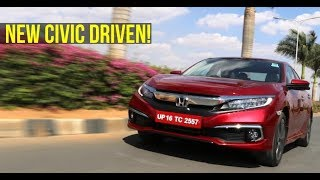 New Honda Civic Petrol CVT & Diesel MT review