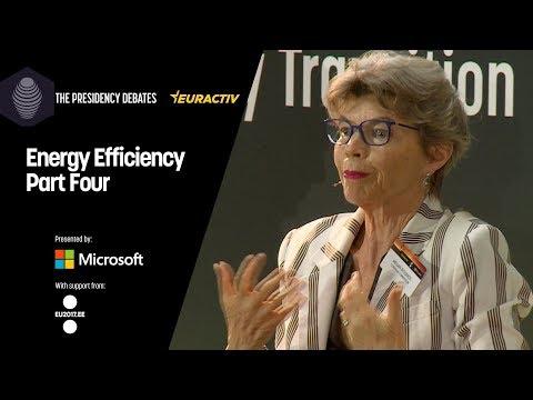 The Presidency Debates: Energy Efficiency - Part Four