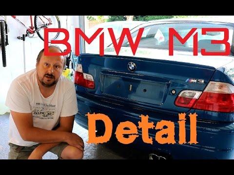 BMW E46 M3 laguna seca blue full detail VLOG  Part 1
