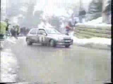 rally - jean ragnotti renault clio williams