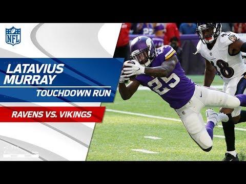 Minnesota Extends Lead w/ Latavius Murray's Massive TD Run! | Ravens vs. Vikings | NFL Wk 7