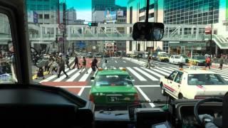 小田急箱根高速バス 前面展望 (バスタ新宿ー甲州街道)