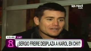 Sergio Freire le quita terreno a Karol Dance en CHV