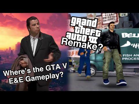 GTA V E&E release date and the honoring of GTA 3's 20th anniversary? |
