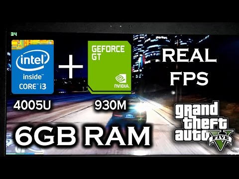 GTA 5 on i3 4005U,GT930M,6GB RAM,Not Recording, Medium Settings