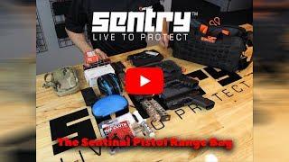 Sentinel Pistol Range Bag by SENTRY