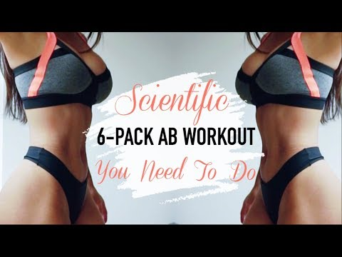 SCIENTIFIC APPROACH TO A 6-PACK  | Top 4 Ab Exercises