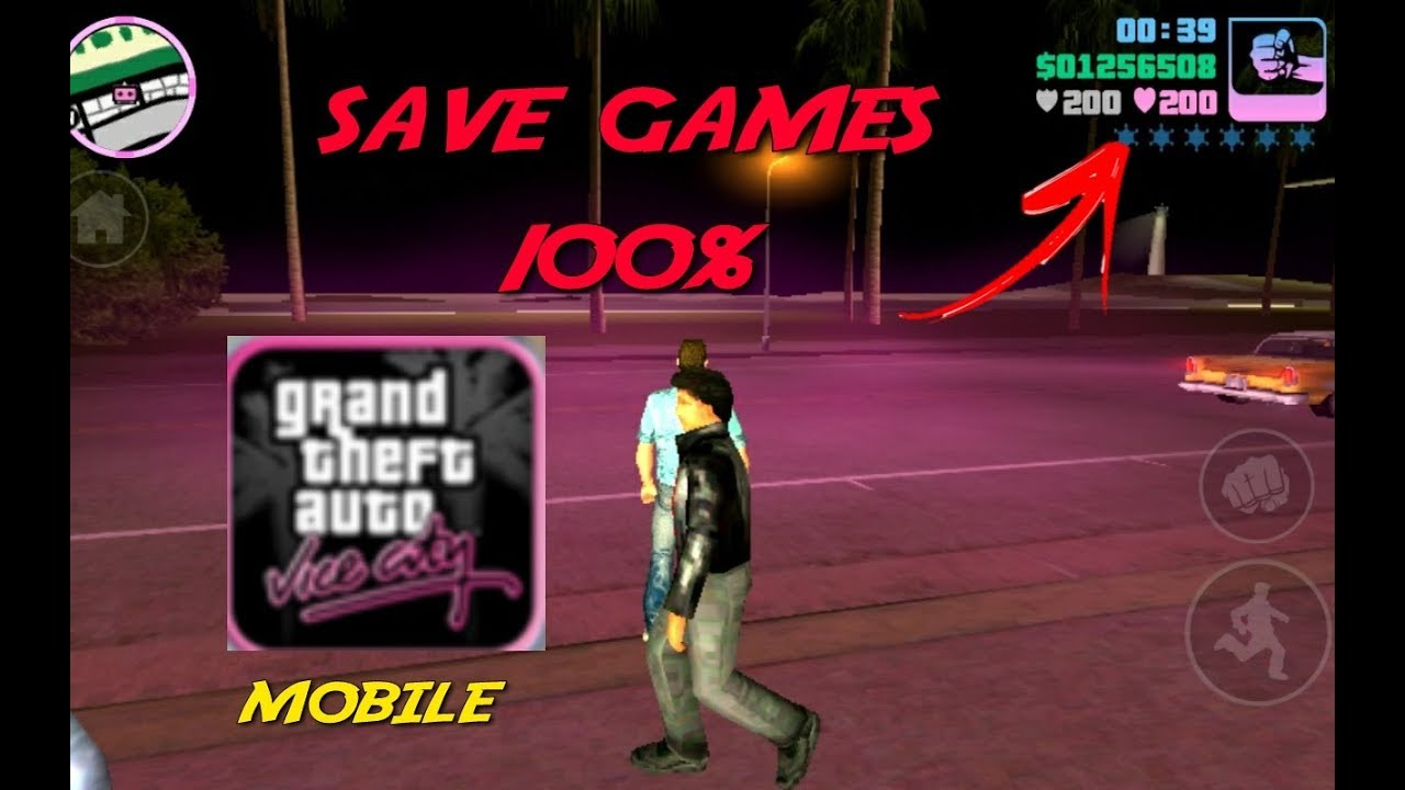 gta vice city android 50 save game file