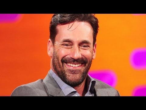 Graham chats with Jon Hamm about his Mad Men doll - The Graham Norton Show - Series 11 - BBC One