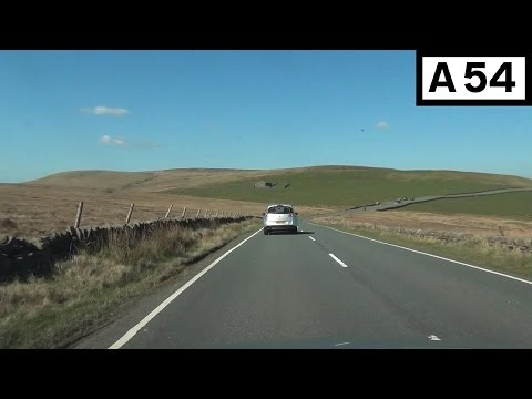 A54 (Peak District) - Bosley to Buxton (Part 1) - Front View