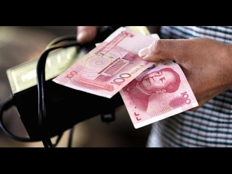 China's currency reserves plunged in January