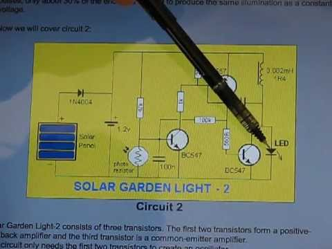 solar garden light to aa battery charger simple conversion youtubeSolar Lighting Wiring Diagram #16
