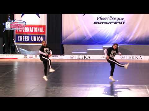115 JUNIOR DOUBLE CHEER HIP HOP Centineo   Crusca SOULS ITALY