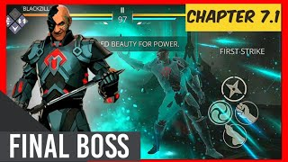 Shadow Fight 3 chapter 7 final boss GIZMO IMPOSSIBLE [QHD 1440P]