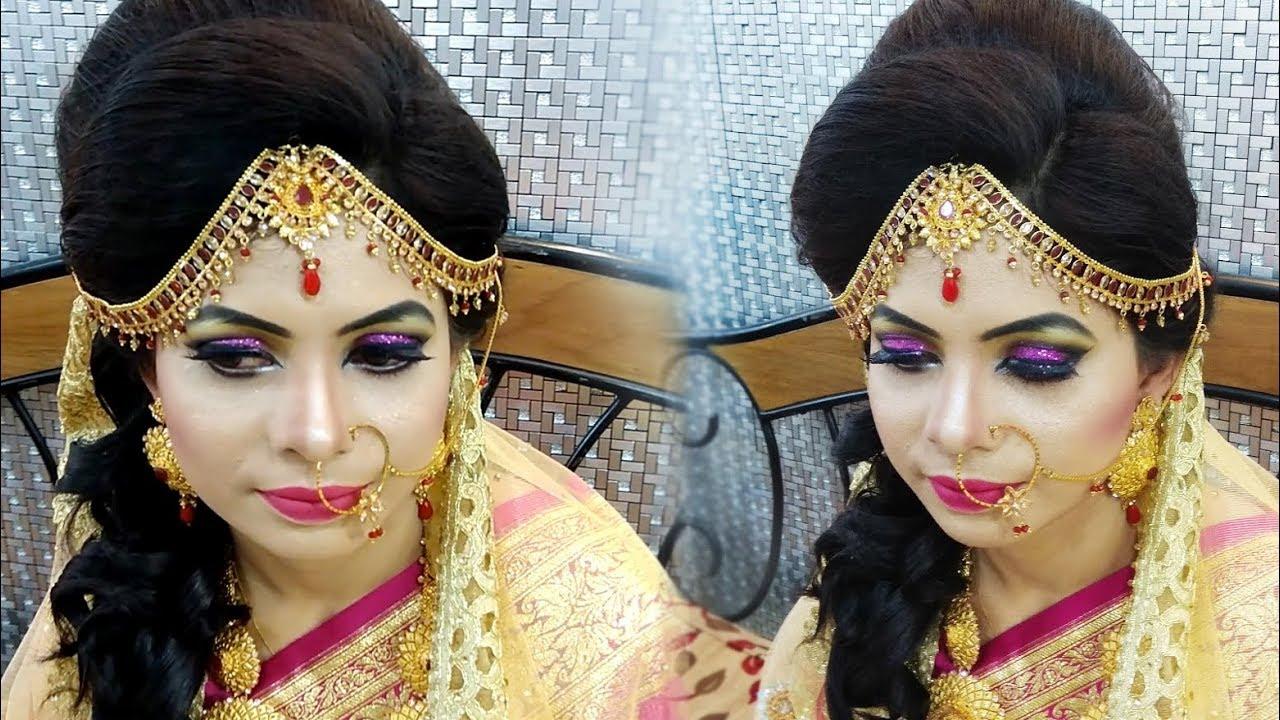 bangladeshi bridal wedding makeover - after makeup shot 2