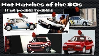 Best 80s Hot Hatchbacks - true pocket rockets tribute