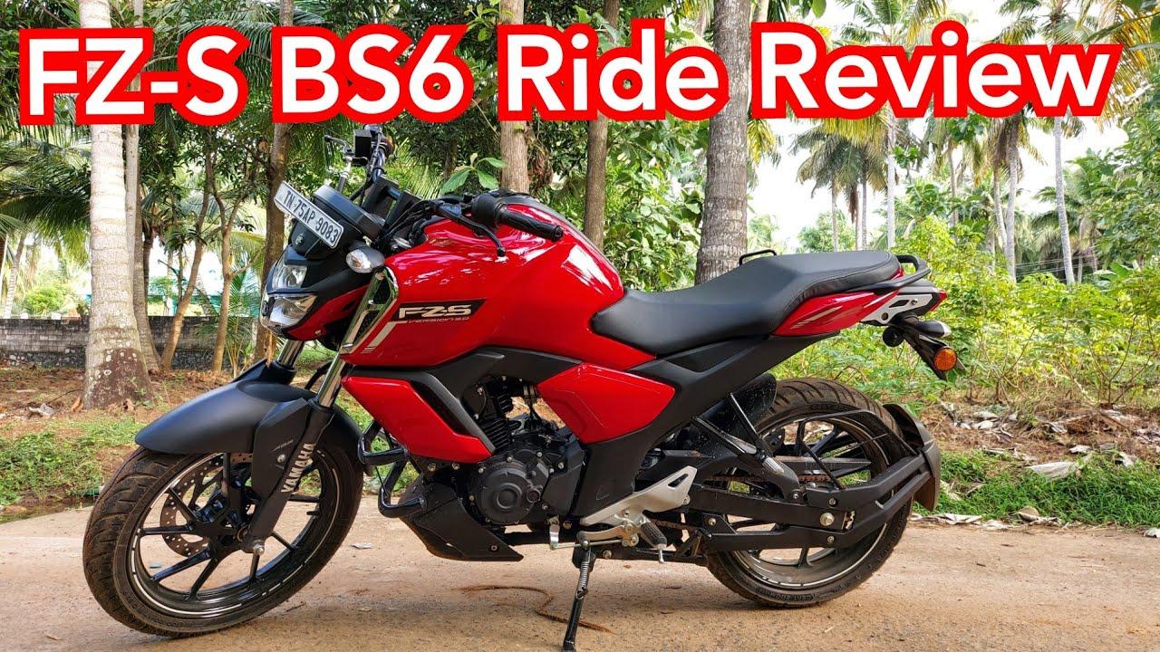 Yamaha FZ-S BS6 Ride review தமிழ்
