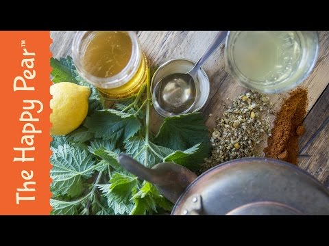 Homemade Hay Fever Remedy - The Happy Pear Recipe