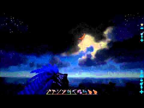 Ark Survival Evolved - Human Meteor (Pteranodons are fun)
