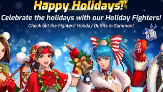 FIRST LOOK AT THE NEW AMAZING HOLIDAY EVENTS & FIGHTERS | King of Fighters ALL STAR