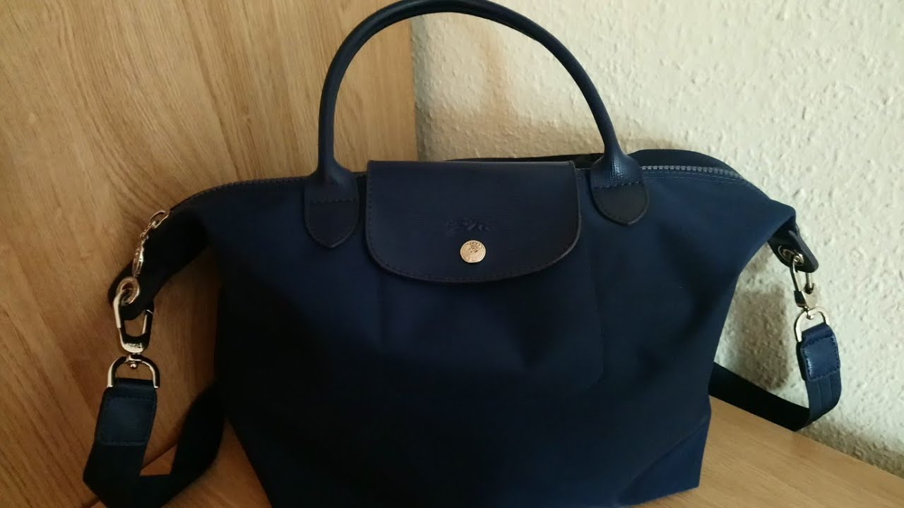 820484580226 What s in my bag (Longchamp Le Pliage Neo Medium Bag) - YouTube