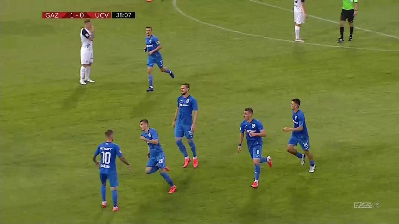 Rezumat: Gaz Metan - U Craiova 1-2 Etapa 6 Play Off Liga 1