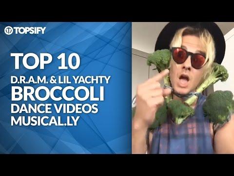 TOP 10 BEST D.R.A.M. BROCCOLI DANCE VIDEOS...