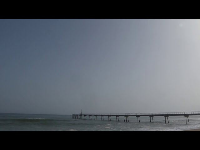 Pols del Sàhara en suspensió - Badalona - Febrer 2021