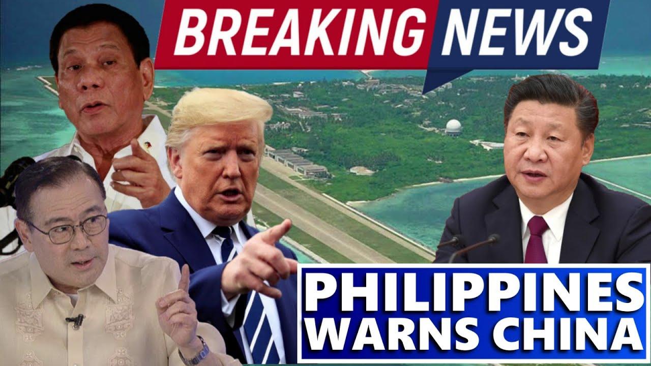 GOOD NEWS PILIPINAS BINALAAN ANG CHINA HUWAG KAYONG LALAGPAS SA PHILIPPINE TERRITORY | TRENDING