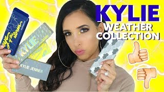 KYLIE COSMETICS WEATHER COLLECTION REVIEW + TUTORIAL | Mar