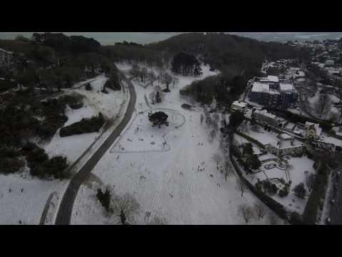 Killiney Hill Snow February 28th 2018