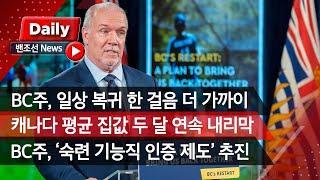 [밴조선영상뉴스] ✔BC 일상 복귀 한 걸음 더 가까이…