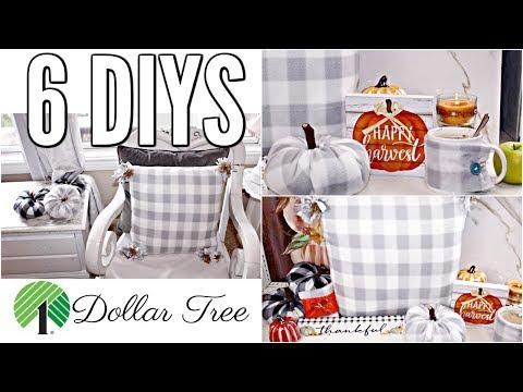 "🍁6 DIY DOLLAR TREE FALL DECOR CRAFTS 2019🍁""I LOVE FALL"" ep. 5 Olivia's Romantic Home DIY Tutorials"