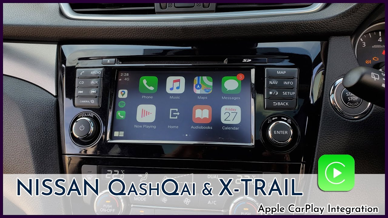 android carplay nissan qashqai