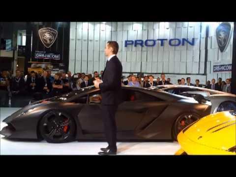 Lamborghini Sesto Elemento at Sydney Motor Show 2012.mp4