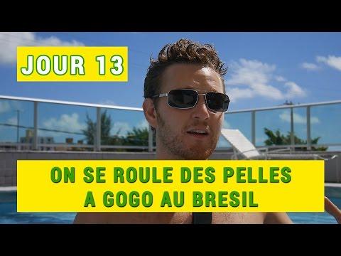 JOUR 13 : On se roule des pelles à gogo au Brésil !